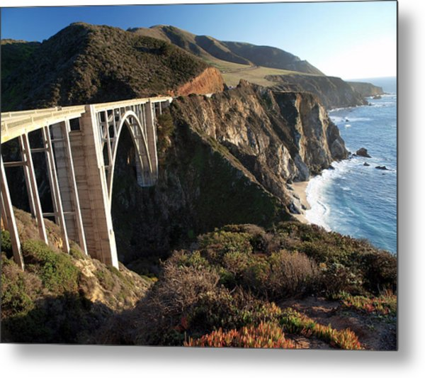 Bixby Bridge Afternoon Metal Print
