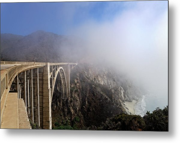 Big Sur - Bixby Bridge Metal Print