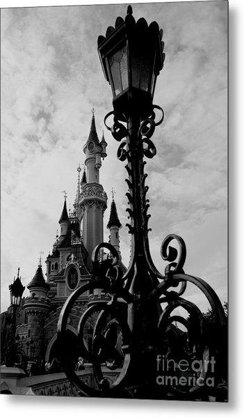 Black And White Fairy Tale Metal Print
