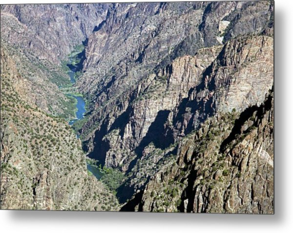 Black Canyon Of The Gunnison Metal Print by Jim West