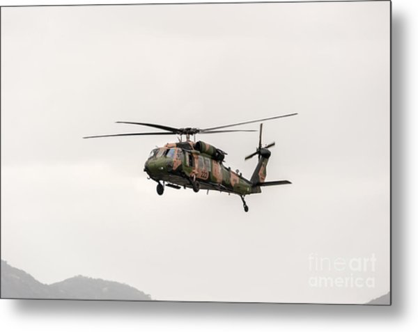 Black Hawk  Metal Print