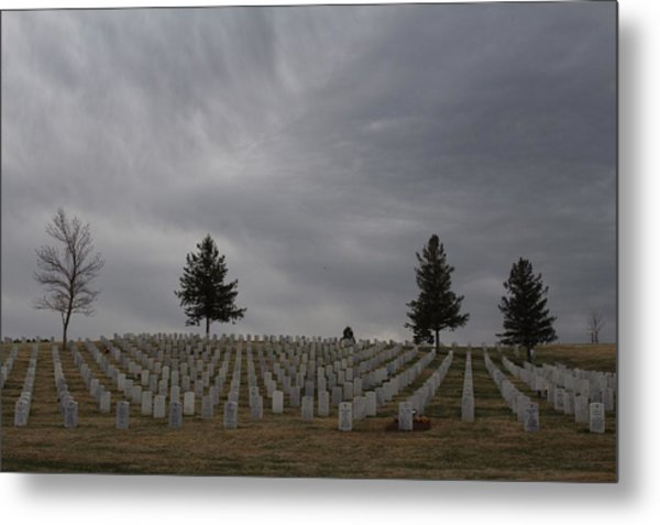 Black Hills Cemetery Metal Print