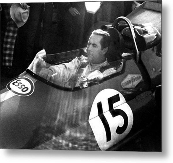 Black Jack Brabham Metal Print