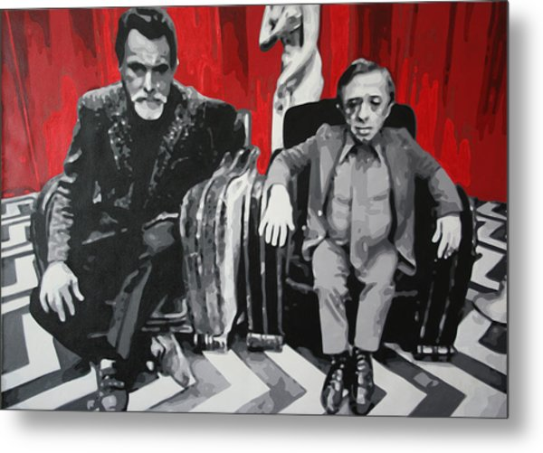 Black Lodge Metal Print