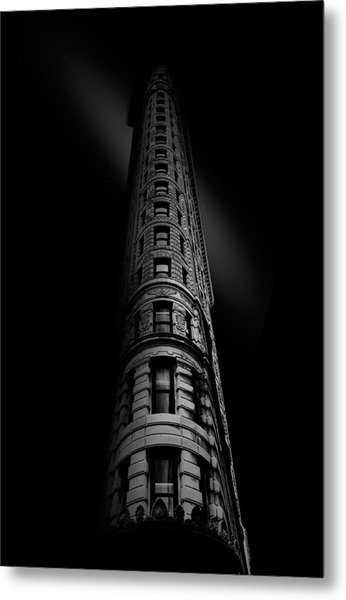Black Noir Metal Print