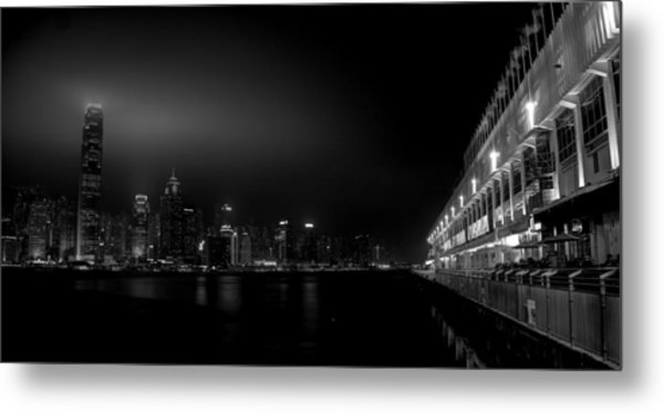 Black Orient Metal Print
