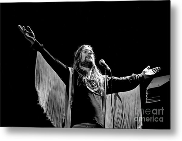 Black Sabbath Ozzy 1977 #2 Metal Print