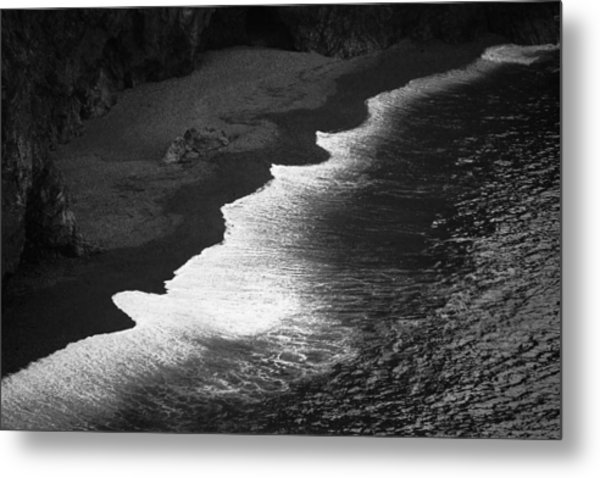 Black Sands Metal Print
