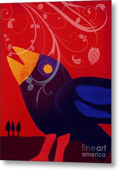 Blackbird Metal Print by Lutz Baar