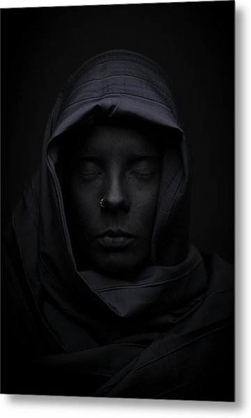 Blackface Metal Print