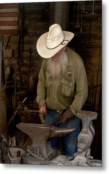 Blacksmith Metal Print