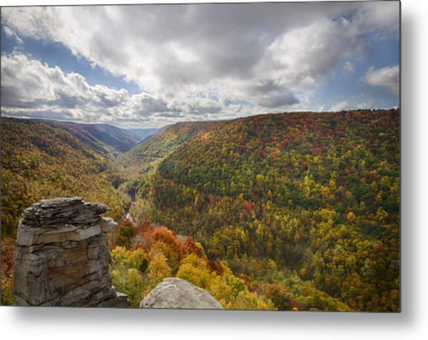 Blackwater Canyon Metal Print