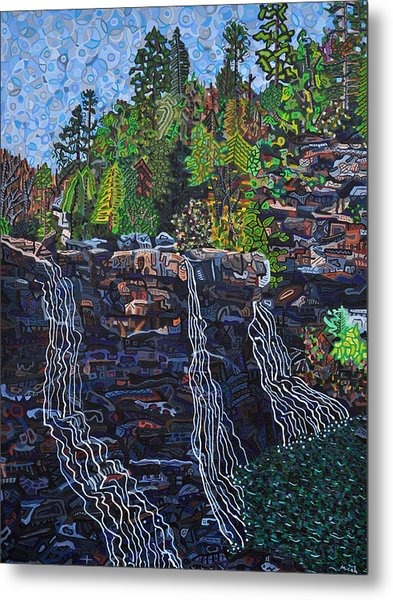 Blackwater Falls Metal Print by Micah Mullen