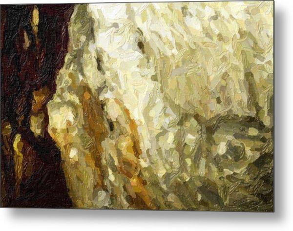 Blanchard Springs Caverns-arkansas Series 03 Metal Print by David Allen Pierson