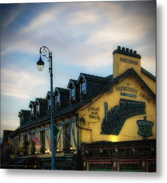 Blarney At Sunset Metal Print