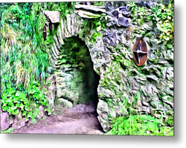 Blarney Cave Metal Print