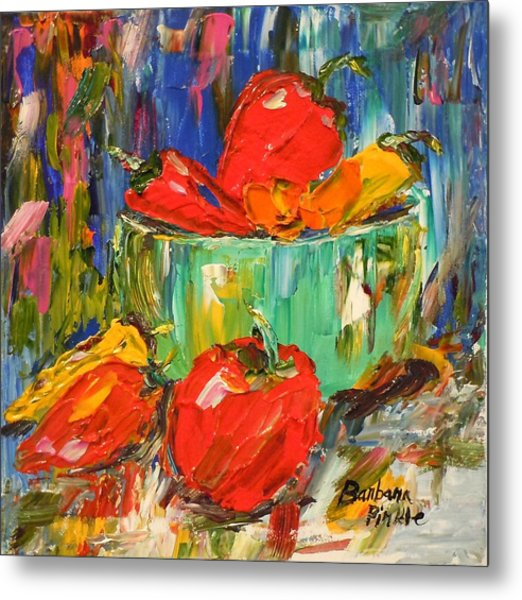 Blast Of Color Metal Print by Barbara Pirkle