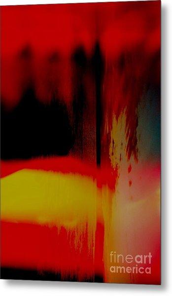 Bleed Metal Print