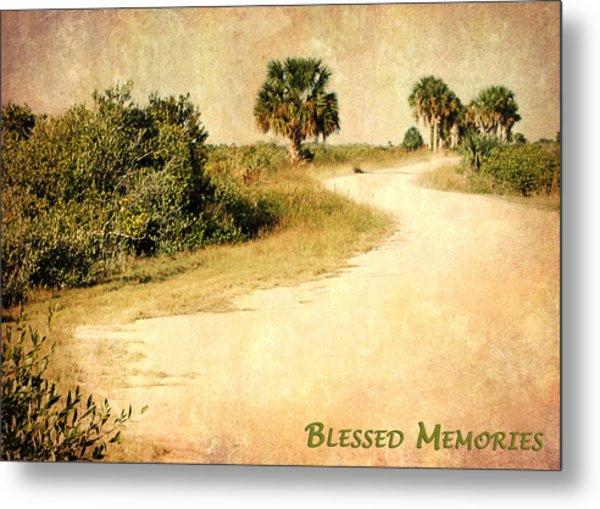 Blessed Memories Metal Print
