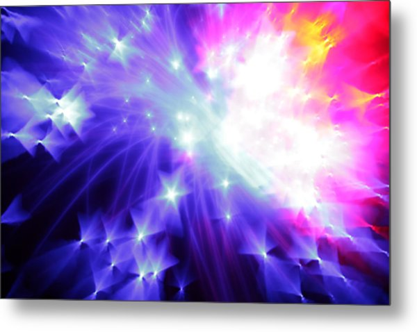 Blinded By The Light Metal Print