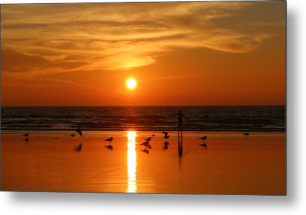 Bliss At Sunset   Metal Print