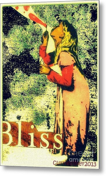 Bliss Metal Print by Currie Silver
