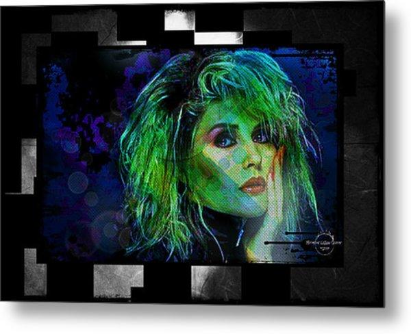 Blondie - Debbie Harry Metal Print