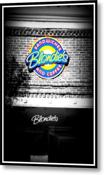 Blondies Metal Print by Shannon Wall