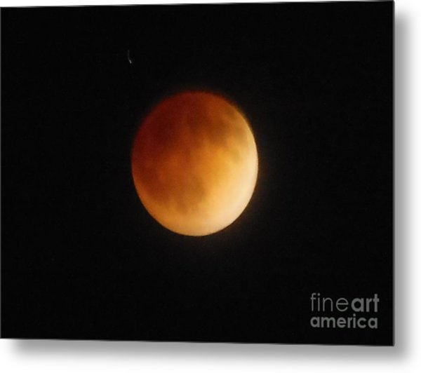 Blood Moon Metal Print by Eclectic Captures