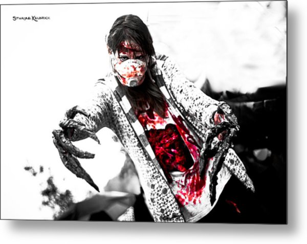 Bloody Death Claws Metal Print
