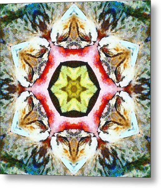Blooming Fibonacci Metal Print