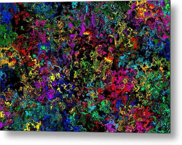 Bloop Nebula Metal Print