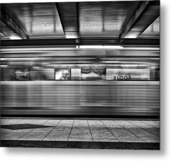 Metal Print featuring the photograph Bloor by Brian Carson