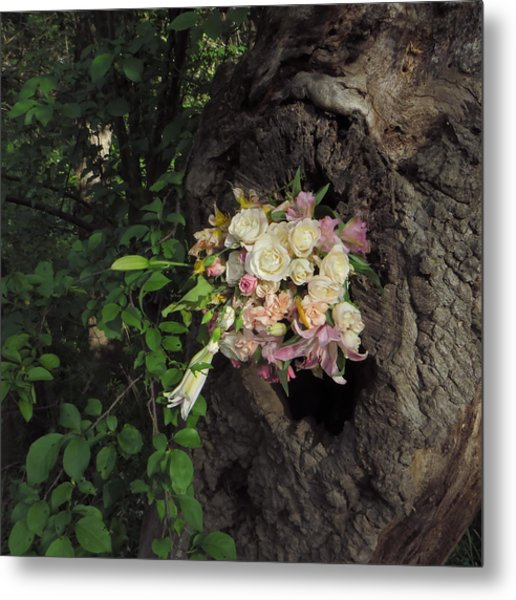 Blossom Rain 25 Metal Print by Georg Kickinger