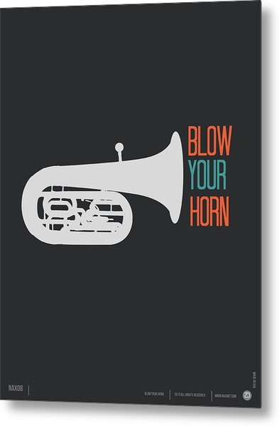 Blow Your Horn Poster Metal Print