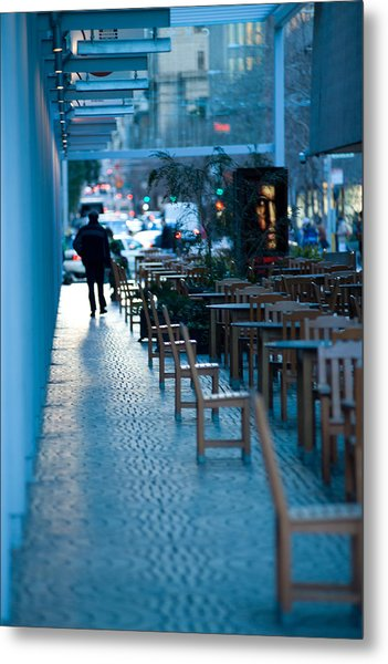 Blue Afternoon San Francisco Metal Print