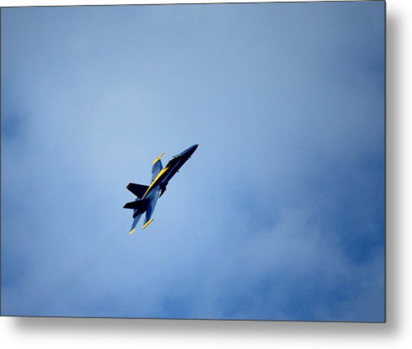 Blue Angel Metal Print