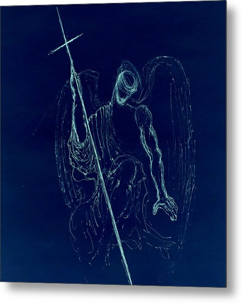 Blue Angel Series Metal Print