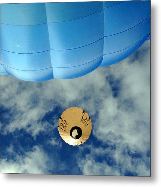Blue Balloon Metal Print by Stephen Richards