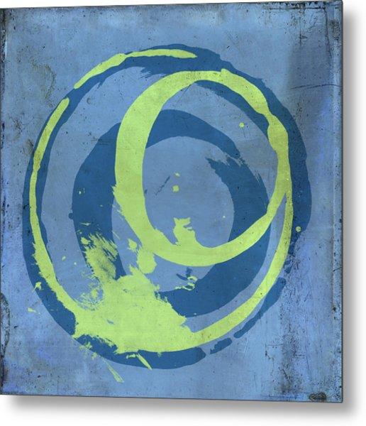 Blue Green 7 Metal Print