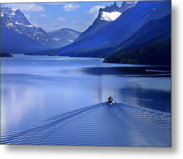 Blue Heaven Metal Print