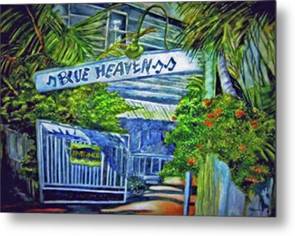 Blue Heaven Key West Metal Print