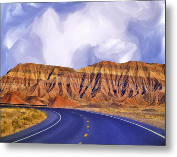 Blue Highway Metal Print