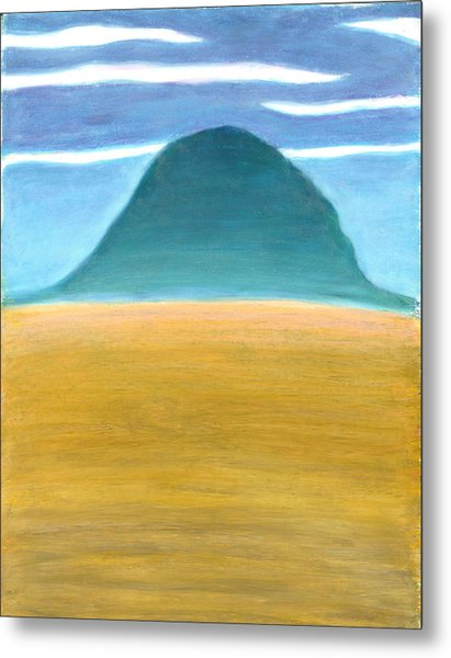 Blue Hill Metal Print