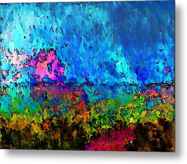 Blue Horizon Two Metal Print