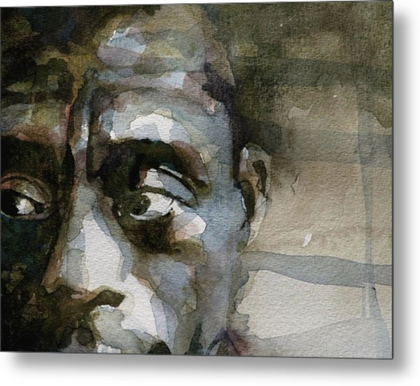Blue In Green  Miles Davis Metal Print by Paul Lovering