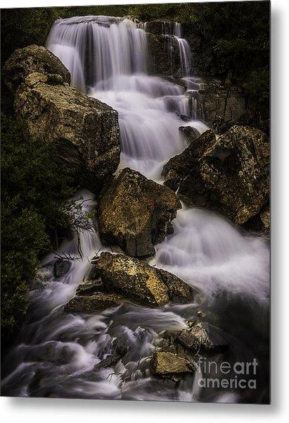 Blue Lake Falls Metal Print