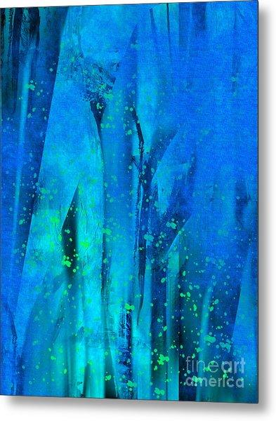 Feeling Blue Metal Print