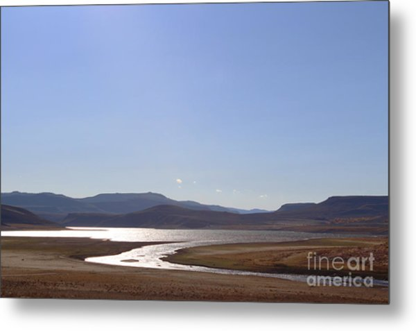 Blue Mesa Reservoir Metal Print
