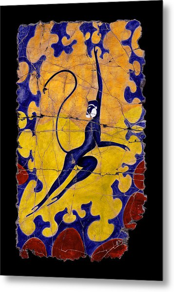 Blue Monkey No. 13 Metal Print